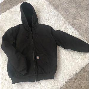 🌟CARHARTT LIKE NEW!!! ❤️ Womens XL HOODED Jacket